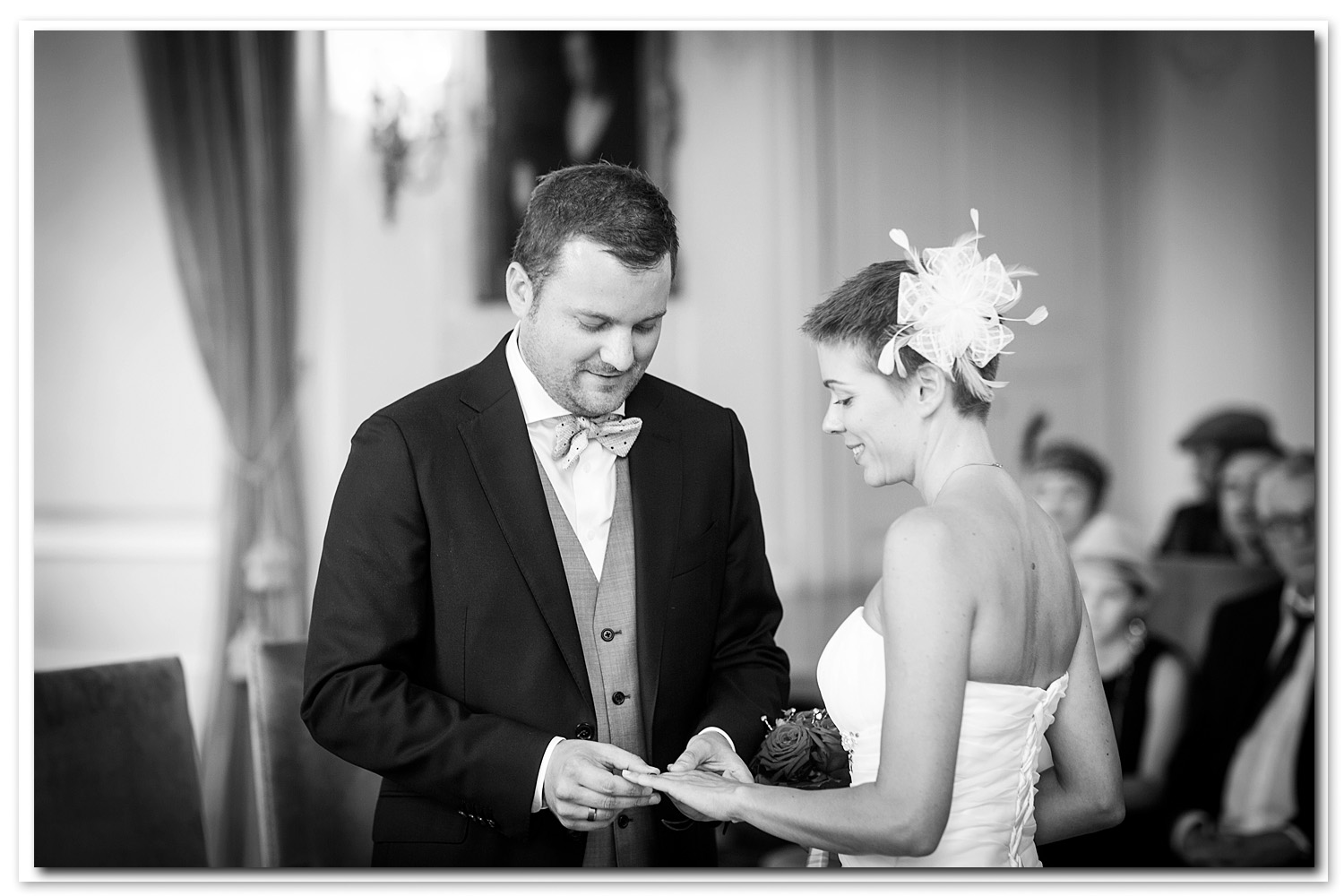 photo de mariage passage d'alliance Estavayer-le-Lac